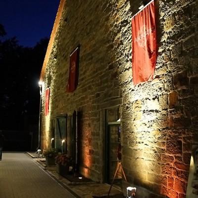 Die Kornkammer bei Nacht