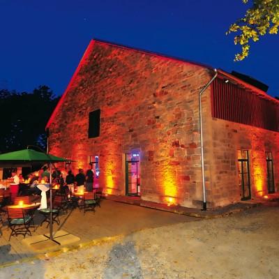 Die Kornkammer mit Terrasse